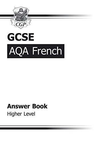 GCSE French AQA Answers (for Workbook) -: CGP Books