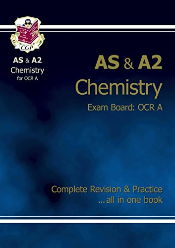 9781847624215: AS/A2 Level Chemistry OCR A Complete Revision & Practice