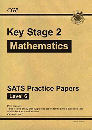 9781847624444: KS2 Maths SATs Practice Papers - Level 6