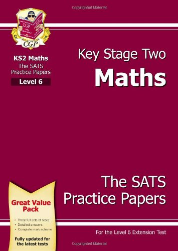 9781847624451: KS2 Maths SATs Practice Papers - Level 6