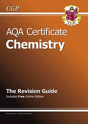 9781847624482: AQA Certificate Chemistry Revision Guide (with Online Edition) (A*-G Course)