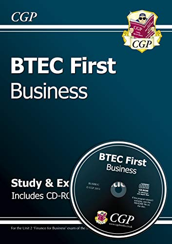 9781847624734: BTEC First in Business - Study & Exam Practice with CD-ROM