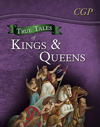 True Tales of Kings & Queens - Reading Book: Boudica, Alfred the Great, King John & Queen ...