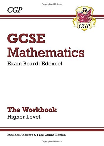9781847624932: GCSE Maths Edexcel Workbook (with Answers and Online Edition) - Higher