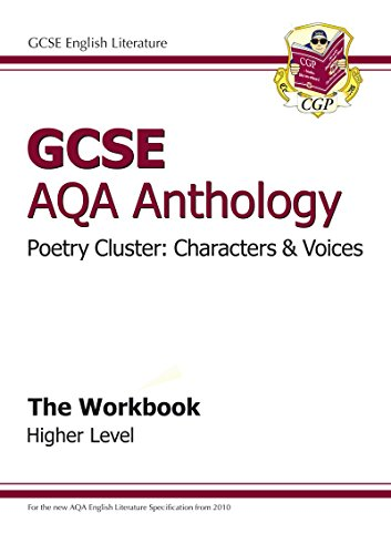 9781847625229: GCSE AQA Anthology Poetry Cluster: Characters & Voices