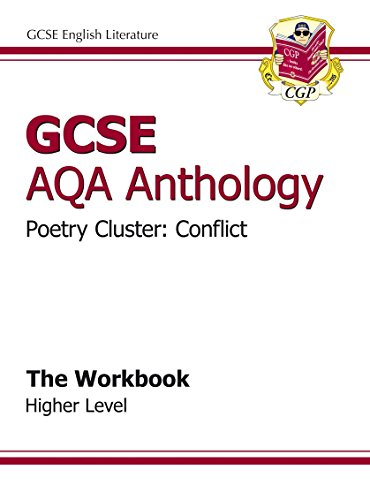 9781847625274: GCSE Anthology AQA Poetry Workbook (Conflict) Higher (A*-G course)
