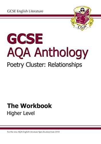 9781847625328: GCSE Anthology AQA Poetry Workbook (Relationships) Higher