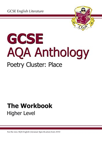 9781847625380: GCSE Anthology AQA Poetry Workbook (Place) Higher