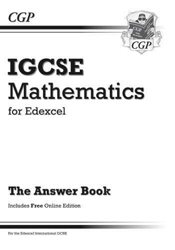 9781847625564: Edexcel Certificate/International GCSE Maths Answers for Workbook with Online Edition (A*-G)