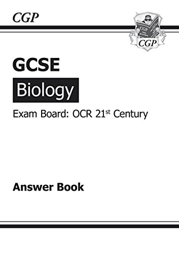 9781847626141: GCSE Biology OCR 21st Century Answers (for Workbook) (A*-G Course)