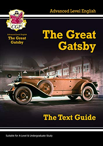 9781847626684: A-Level English Text Guide - The Great Gatsby (CGP A-Level English)
