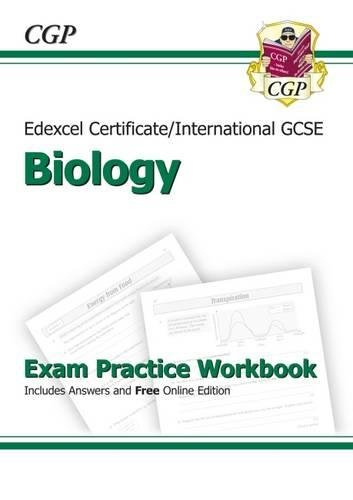 9781847626905: Edexcel International GCSE Biology Exam Practice Workbook with Answers (A*-G Course)