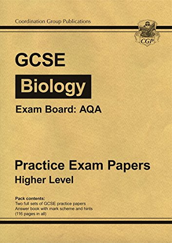 GCSE Biology AQA Practice Papers - Higher: CGP Books