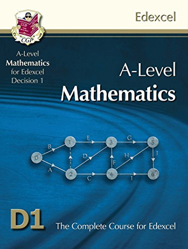 9781847628060: A-Level Maths for Edexcel - Decision Maths 1: Student Book