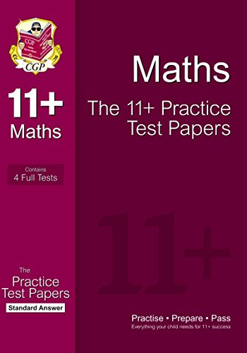 9781847628299: 11+ Maths Practice Papers: Standard Answers (for GL & Other Test Providers)