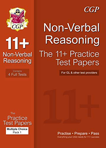 11+ Non-Verbal Reasoning Practice Test Papers: Multiple: CGP Books
