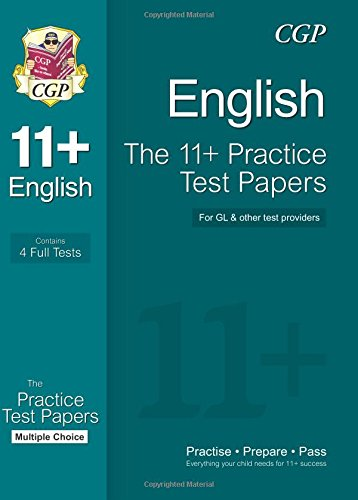 9781847628442: The 11+ English Practice Test Papers: Multiple Choice (for GL & Other Test Providers)