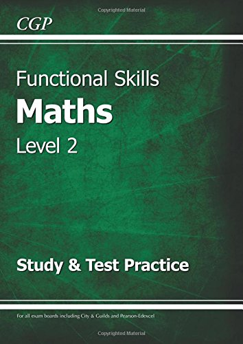 9781847628725: Functional Skills Maths Level 2 - Study and Test Practice