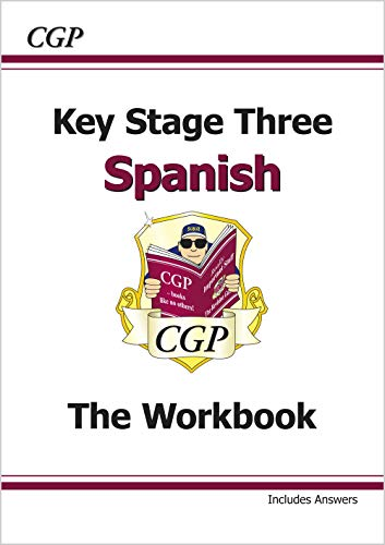 Ks3 Spanish Workbook With Answers Paperback By CGP Books
