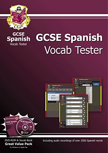 9781847629104: GCSE Spanish Interactive Vocab Tester - DVD-ROM and Vocab Book (A*-G Course)