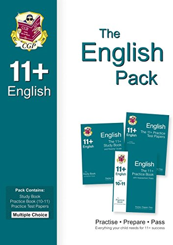 9781847629678: 11+ English Bundle Pack - Multiple Choice (for GL & Other Test Providers)