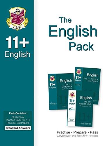 11+ English Bundle Pack - Standard Answers: Parsons, Richard