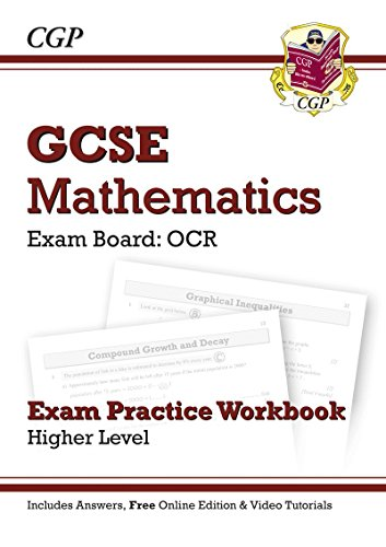 9781847629753: GCSE Maths OCR Exam Practice Workbook (with Answers and Online Edition) - Higher