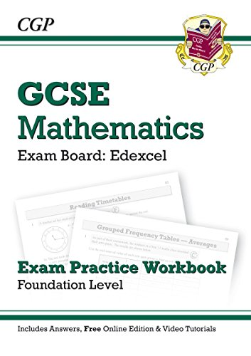 9781847629784: GCSE Maths Edexcel Exam Practice Workbook with Answers & Online Edn: Foundation