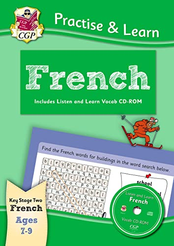 9781847629869: Practise & Learn: French for Ages 7-9 - with vocab CD-ROM