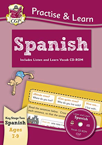 9781847629975: New Curriculum Practise & Learn: Spanish for Ages 7-9 - With Vocab CD-ROM