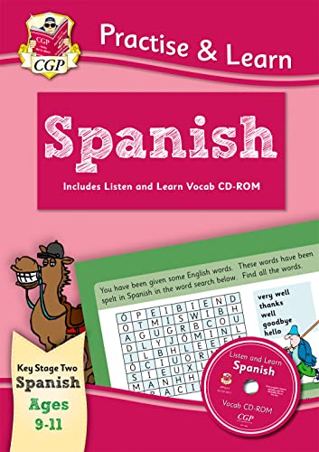 9781847629982: Practise & Learn: Spanish for Ages 9-11 - with vocab CD-ROM