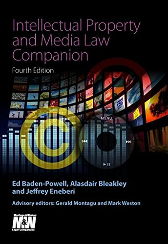 9781847660428: Intellectual Property and Media Law Companion: Fourth Edition (Legal Practice Course)
