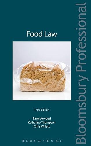 9781847660954: Food Law