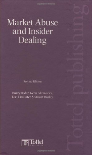 9781847661357: Market Abuse and Insider Dealing: Second Edition