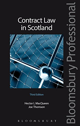 9781847661630: Contract Law in Scotland