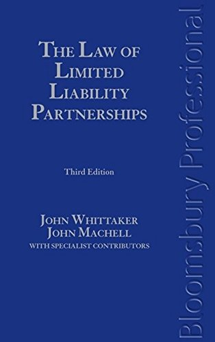 9781847663221: The Law of Limited Liability Partnerships: Third Edition