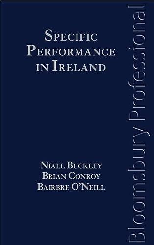 Specific Performance In Ireland