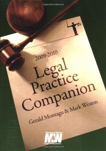9781847664785: Legal Practice Companion 2009/10: Fifteenth Edition