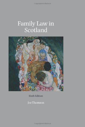 9781847665607: Family Law in Scotland