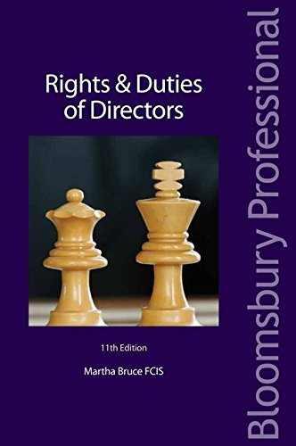 9781847666994: Rights and Duties of Directors: Eleventh Edition (Directors Handbook Series)