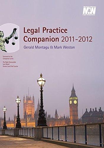 9781847667458: Legal Practice Companion 2011/12: Seventeenth Edition