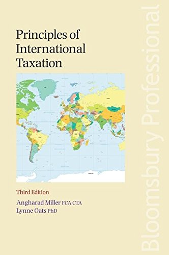 Principles of International Taxation: Angharad Miller and
