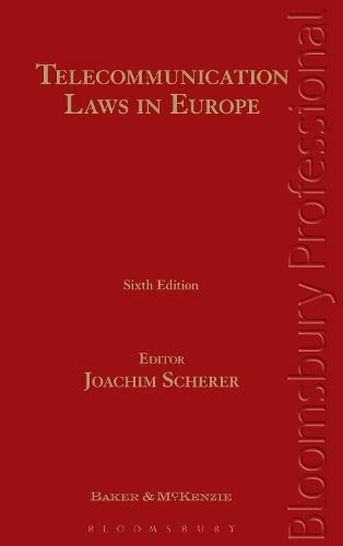 9781847668851: Telecommunication Laws in Europe: Law and Regulation of Electronic Communications in Europe (Sixth Edition)