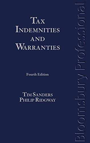 9781847669193: Tax Indemnities and Warranties: Fourth Edition