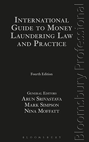 9781847669797: International Guide to Money Laundering Law and Practice
