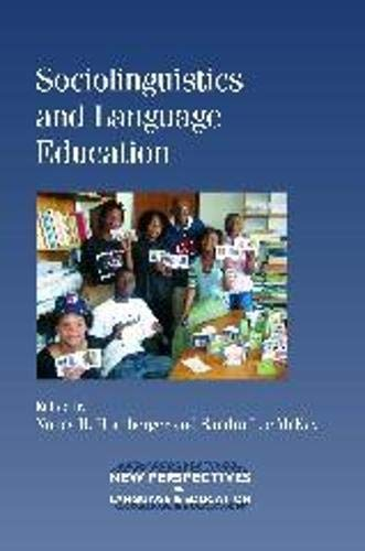 9781847692832: Sociolinguistics and Language Education (NEW PERSPECTIVES ON LANGUAGE AND EDUCATION)