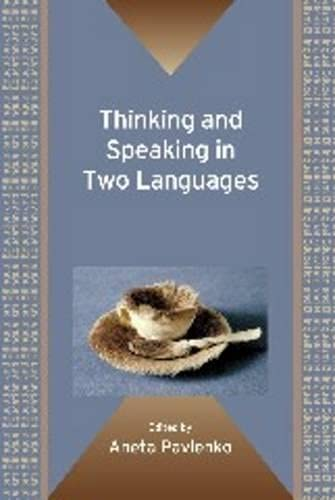 9781847693365: Thinking and Speaking in Two Languages (Bilingual Education & Bilingualism)