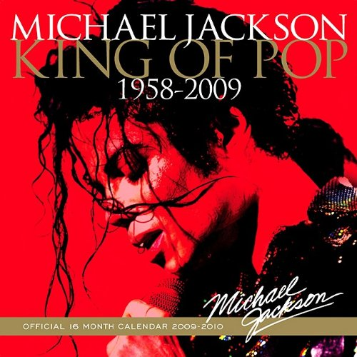 Michael Jackson King of Pop Wall Calendar: Brown Trout Publishers