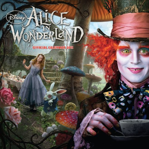 9781847706225: The Official Alice in Wonderland 2011 Square Calendar