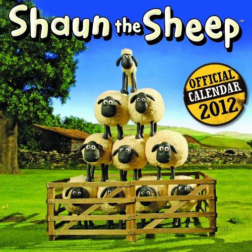 9781847708885: Official Shaun the Sheep Calendar 2012